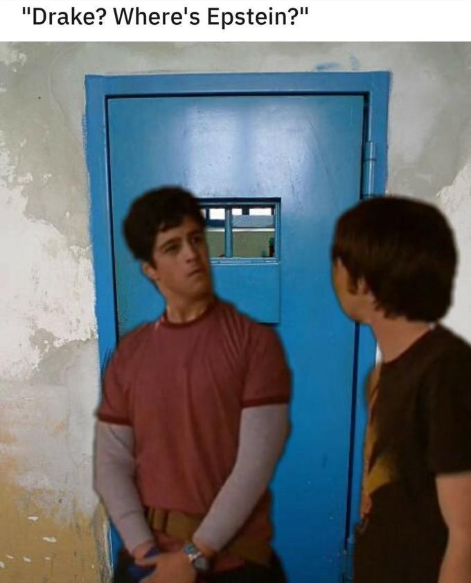 "conspiracy - Snapshot - ""Drake? Where's Epstein?"""