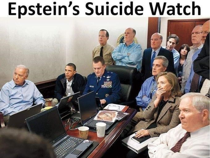 conspiracy - People - Epstein's Suicide Watch