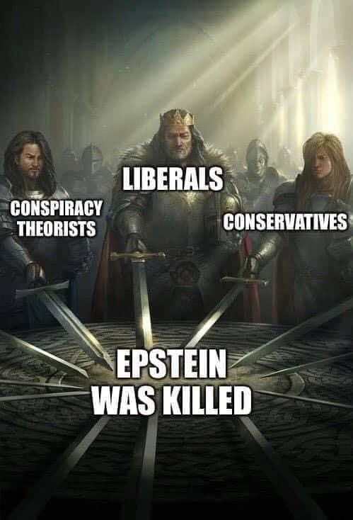 conspiracy - Movie - LIBERALS CONSPIRACY THEORISTS CONSERVATIVES EPSTEIN WAS KILLED