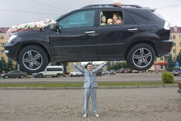 russian wedding - Land vehicle