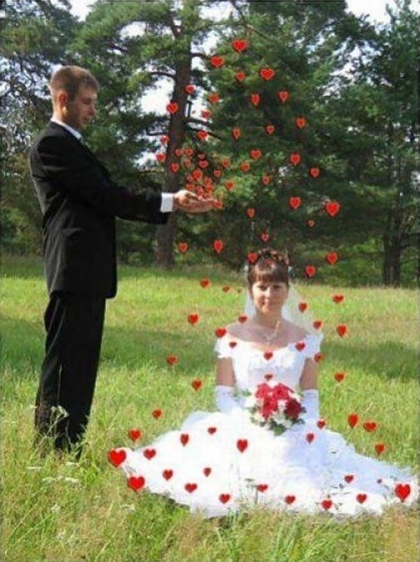 russian wedding - Red