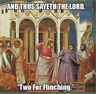 """Holy places - ANDTHUSSAYETHTHE LORD, """"Two For Flinching DS"""