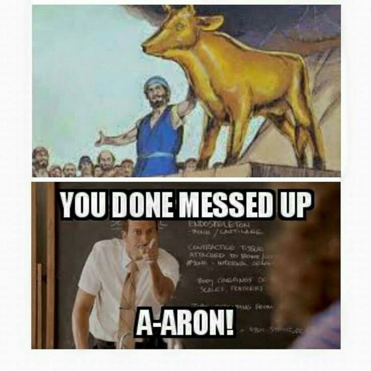Poster - YOU DONE MESSED UP ENDOSTELESTON si/CaticGE LARRACTR T9 ATTNCU SCALES ATHS Fe A-ARON!