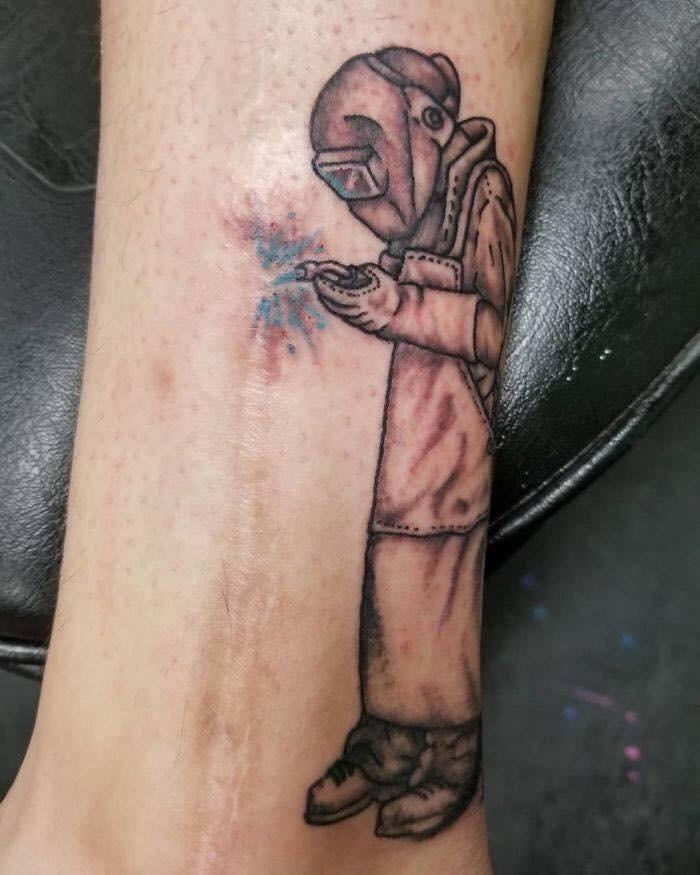 scar tattoo - Tattoo