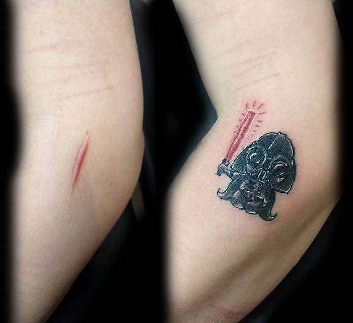 scar tattoo - Temporary tattoo