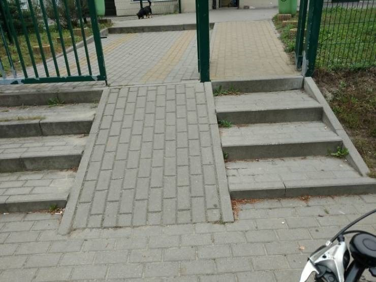 design fail - Sidewalk