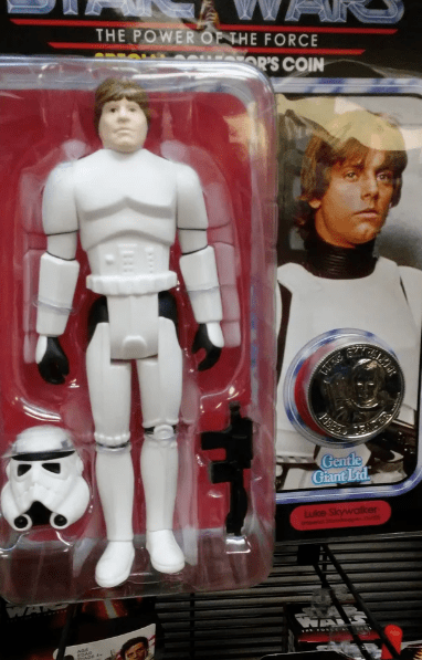 expectations vs reality - Action figure - THE POWER OP THE FORCE R'S COIN Gentle Gant Lid uke Siwaller