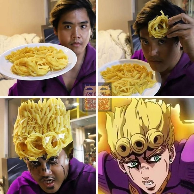 low cost cosplay - Food