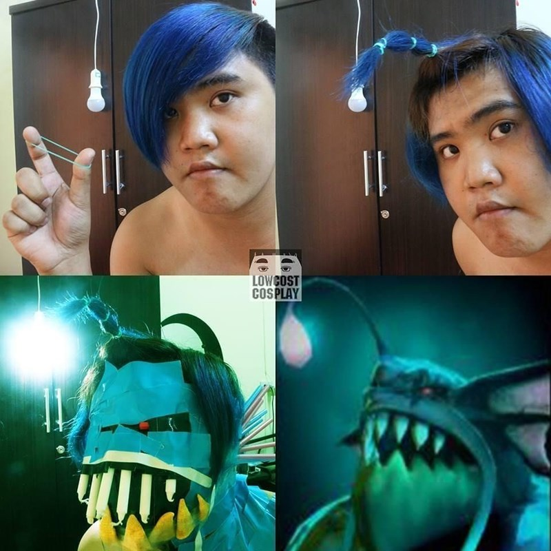 low cost cosplay - Face - LOWCOST COSPLAY
