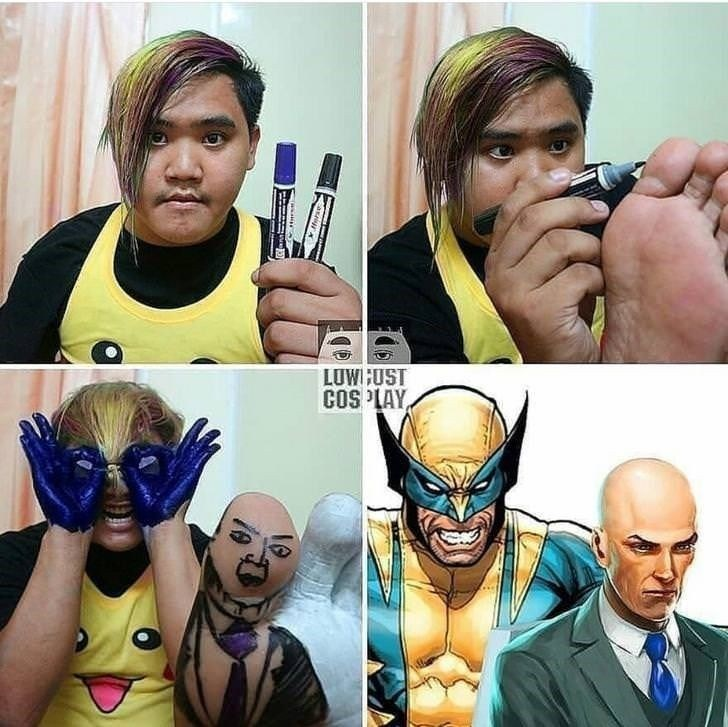 low cost cosplay - Human - LUWGUST COSPLAY