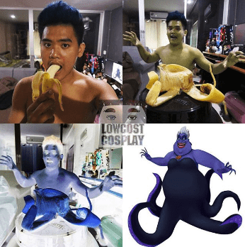 low cost cosplay - Fictional character - LOWCOST COSPLAY