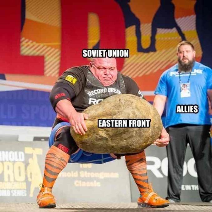 Strongman - SOVIETUNION RECORD BREA RC LD SPO ALLIES EASTERN FRONT NOLD RO ROG mold Strongman Classie EN TH SERVES