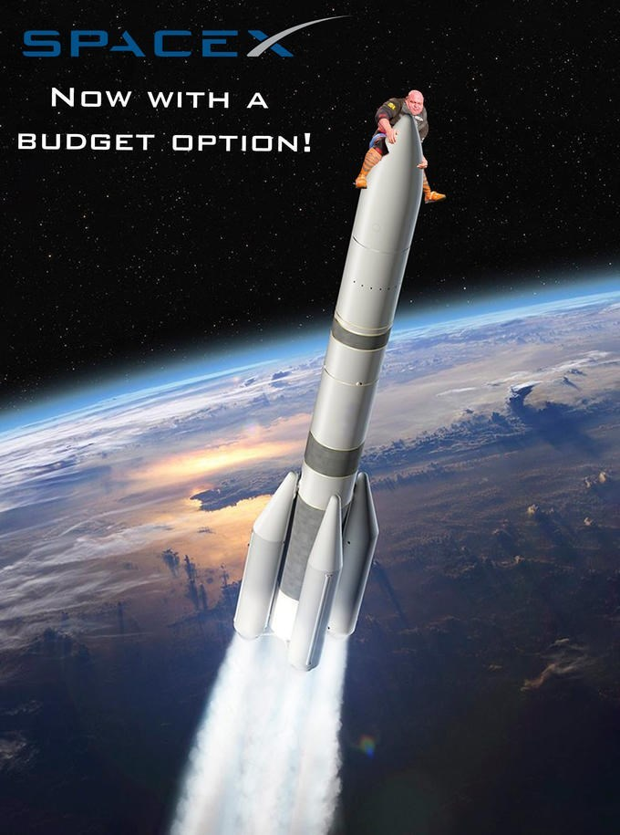 Rocket - SPACEX NOW WITH A BUDGET OPTION!