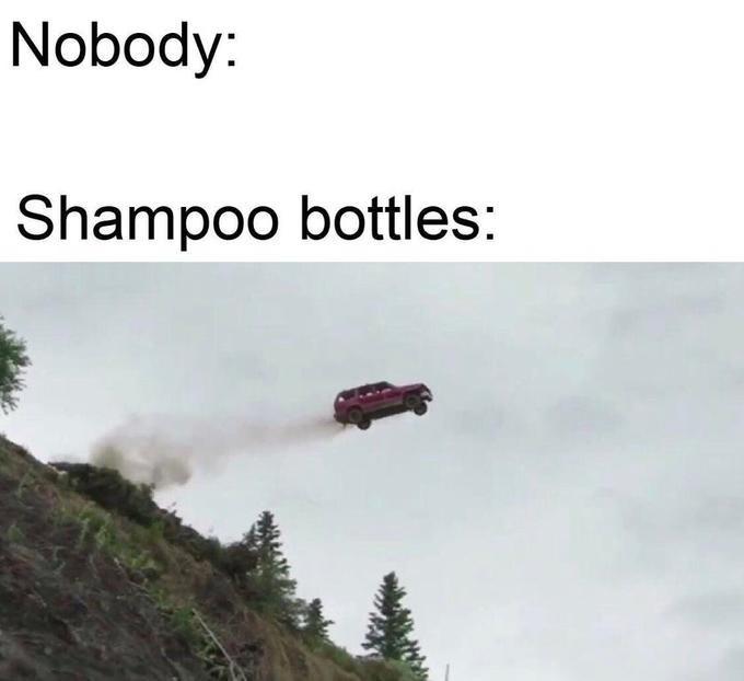 Transport - Nobody: Shampoo bottles: