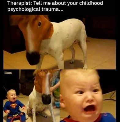 Mammal - Therapist: Tell me about your childhood psychological trauma...