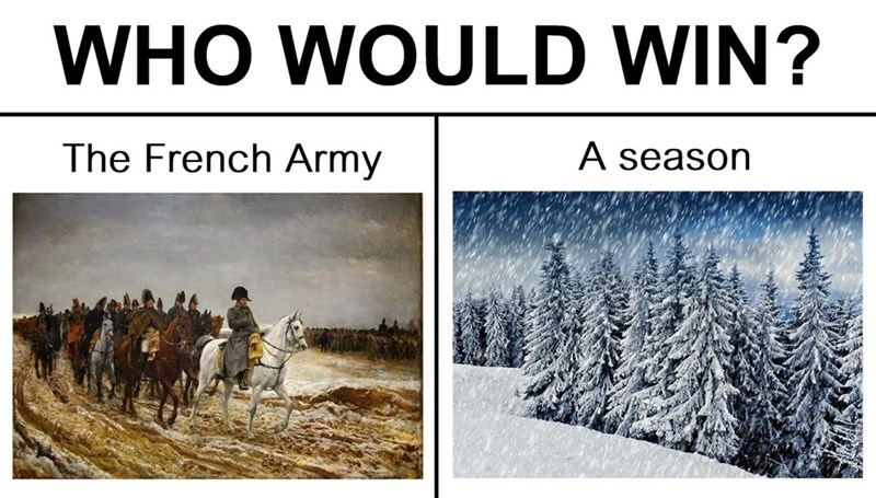 Adaptation - WHO WOULD WIN? The French Army A season