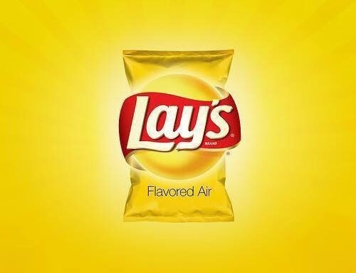 advertisements - Junk food - lays EAND Flavored Air