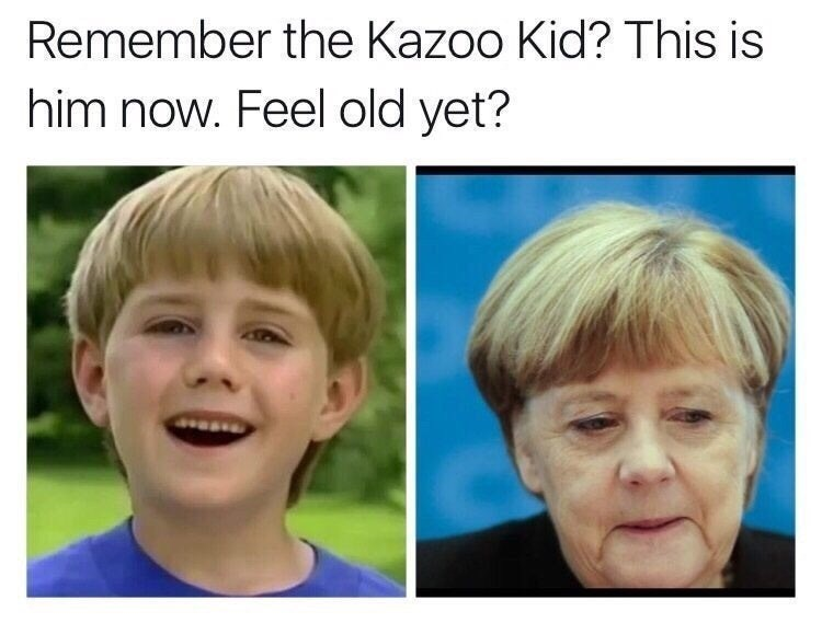 meme - Face - Remember the Kazoo Kid? This is him now. Feel old yet?
