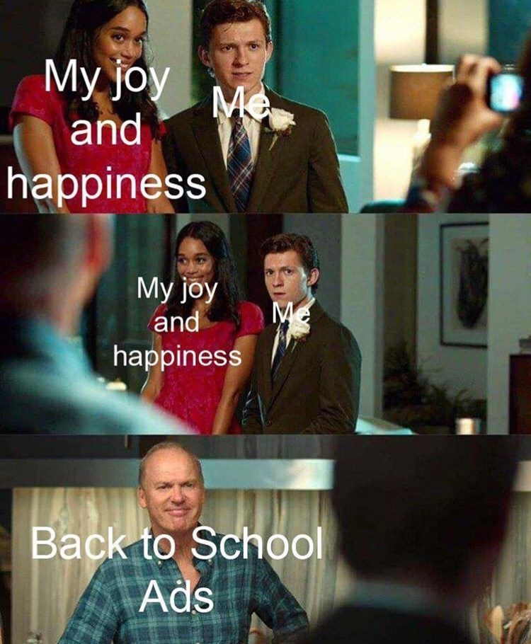 Television program - Мy joy мa and happiness Мy joy Me and happiness Back to School Ads