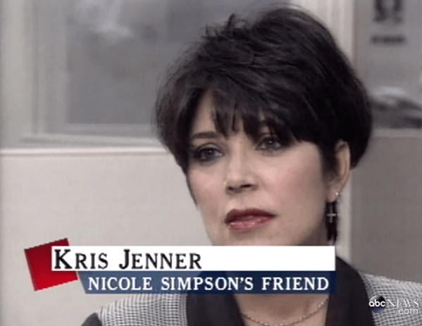 Hair - KRIS JENNER NICOLE SIMPSON'S FRIEND abc WS com