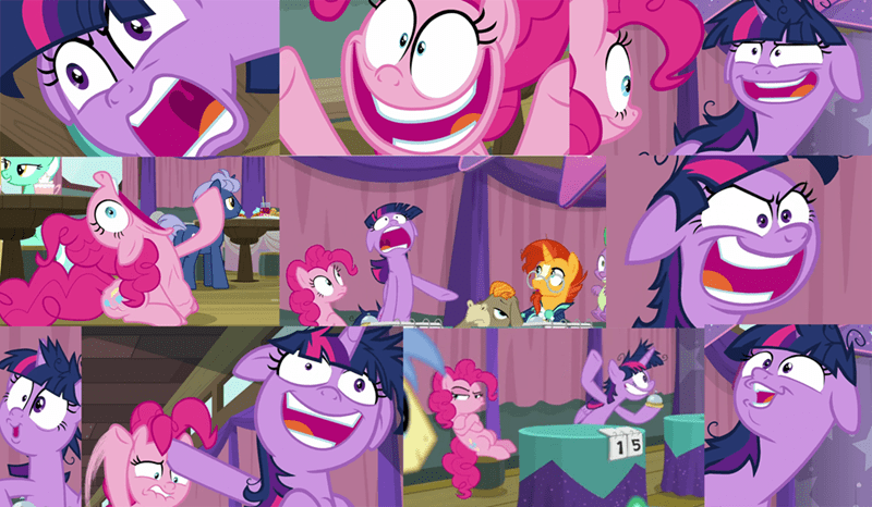 sunburst twilight sparkle screencap pinkie pie cranky doodle donkey a trivial pursuit - 9346716672