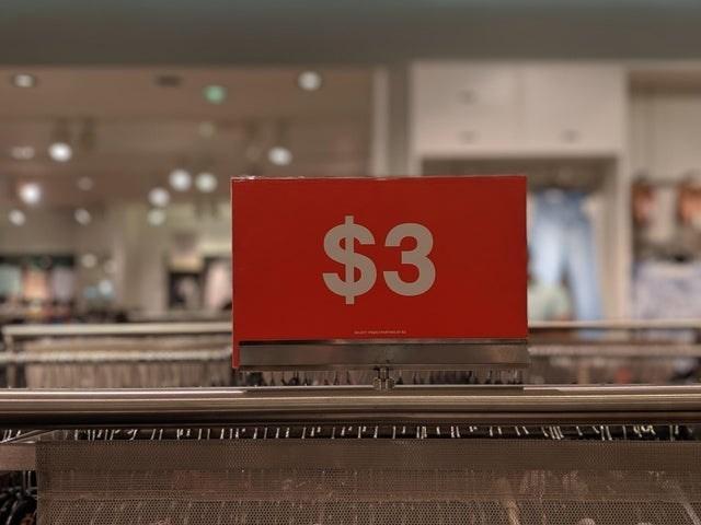 false advertising - Red - $3