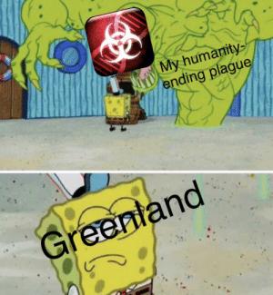 Yellow - My humanity ending plague Greenland