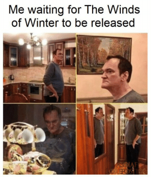 Room - Me waiting for The Winds of Winter to be released IAF ROSTING