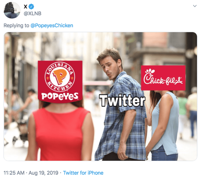 Twitter meme - Distracted Boyfriend