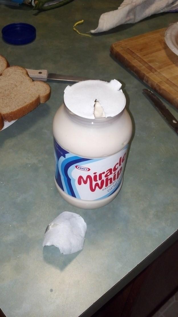 uncomfortable pic - Marshmallow creme - KRAFT Misad VhiP DRESS