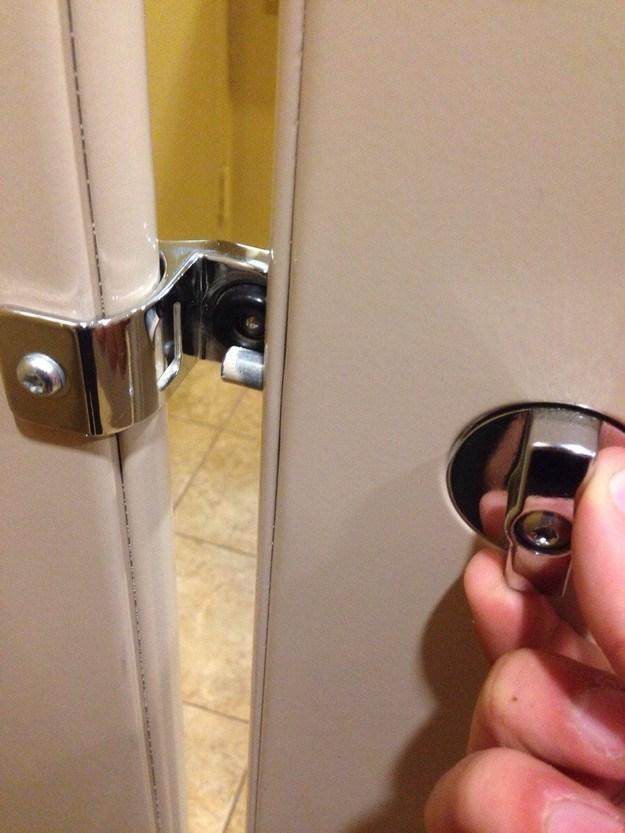 uncomfortable pic - Lock