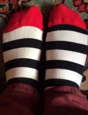 uncomfortable pic - Sock