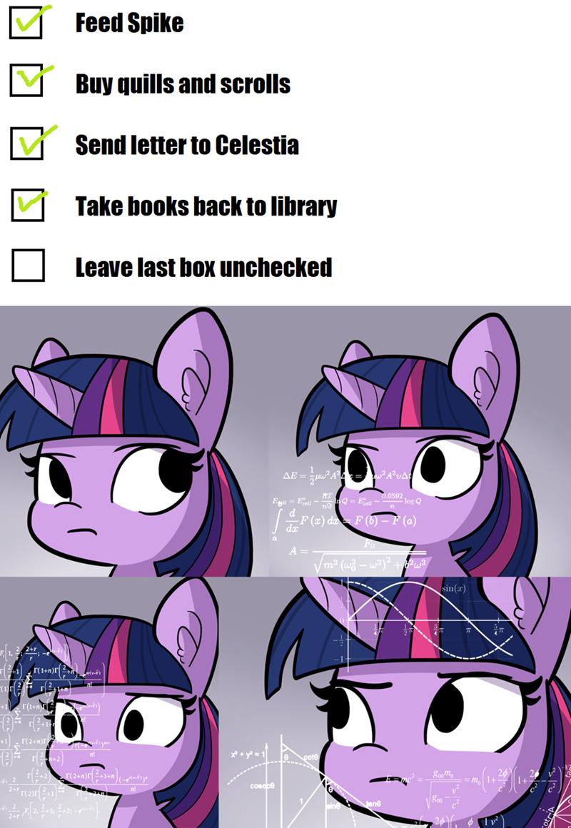 tj pones twilight sparkle math lady cursed images Memes - 9348027136