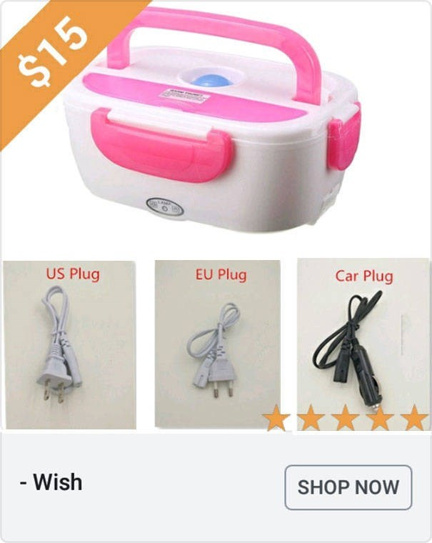 Product - $15 US Plug EU Plug Car Plug - Wish SHOP NOW