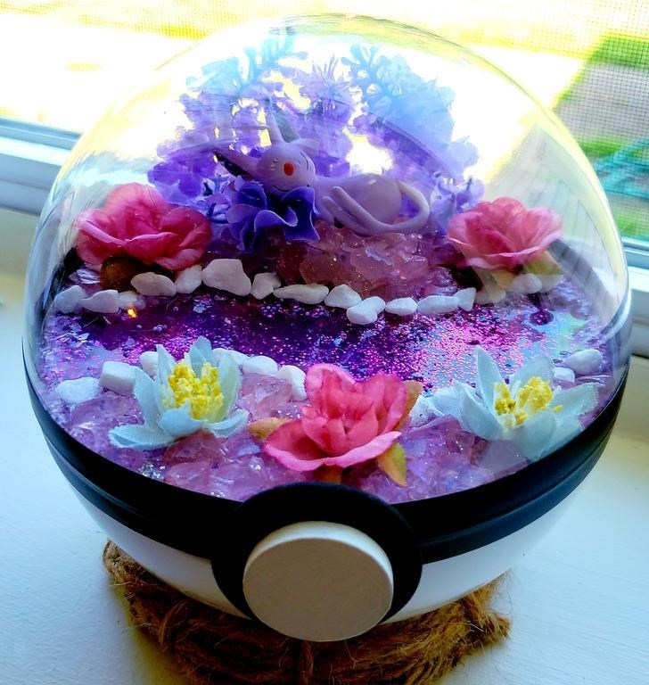 james croft pokemon terrariums - Violet