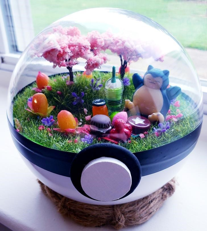 james croft pokemon terrariums - Grass