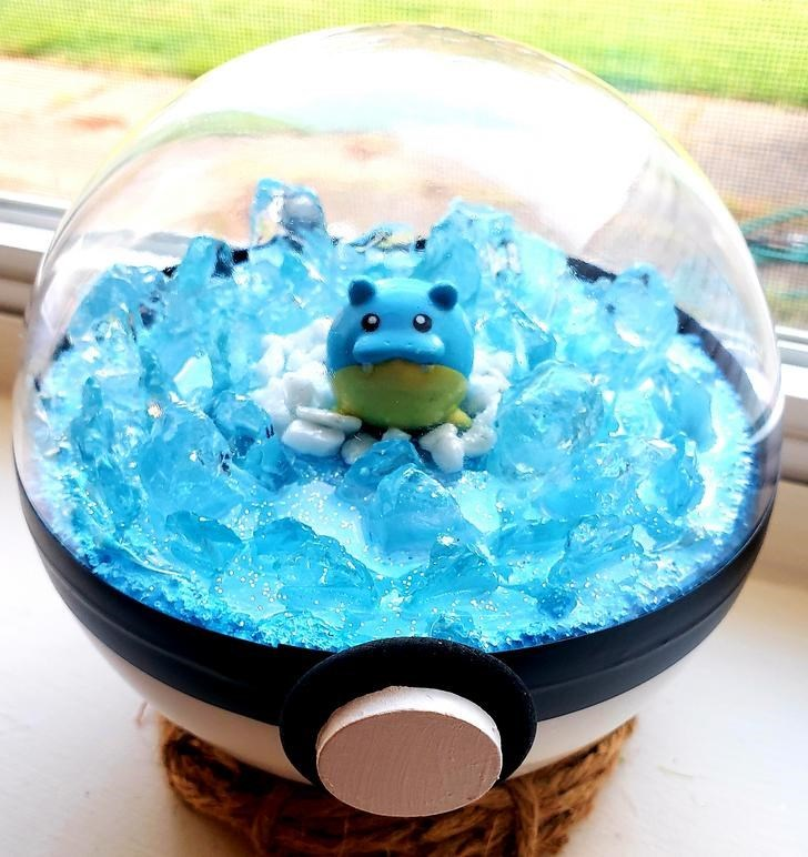 james croft pokemon terrariums - Turquoise