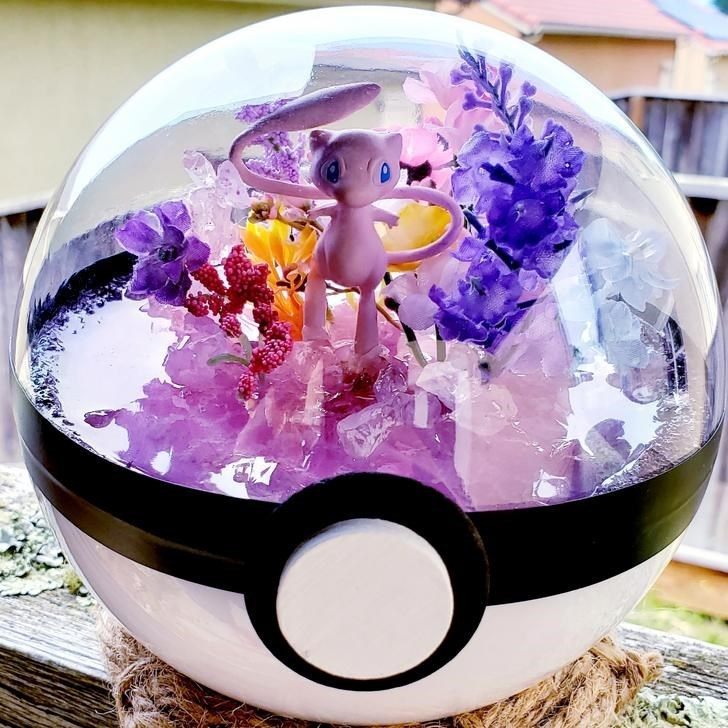 james croft pokemon terrariums - Purple