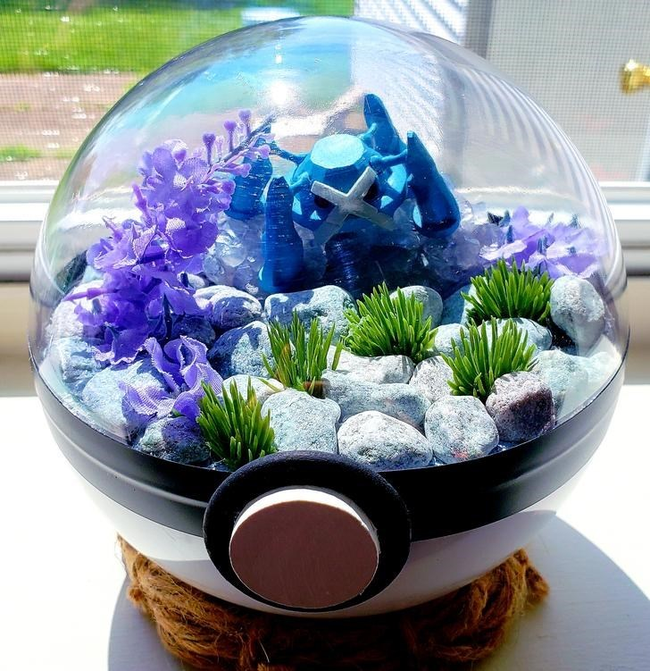 james croft pokemon terrariums - Aquarium decor
