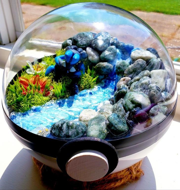 james croft pokemon terrariums - Plant