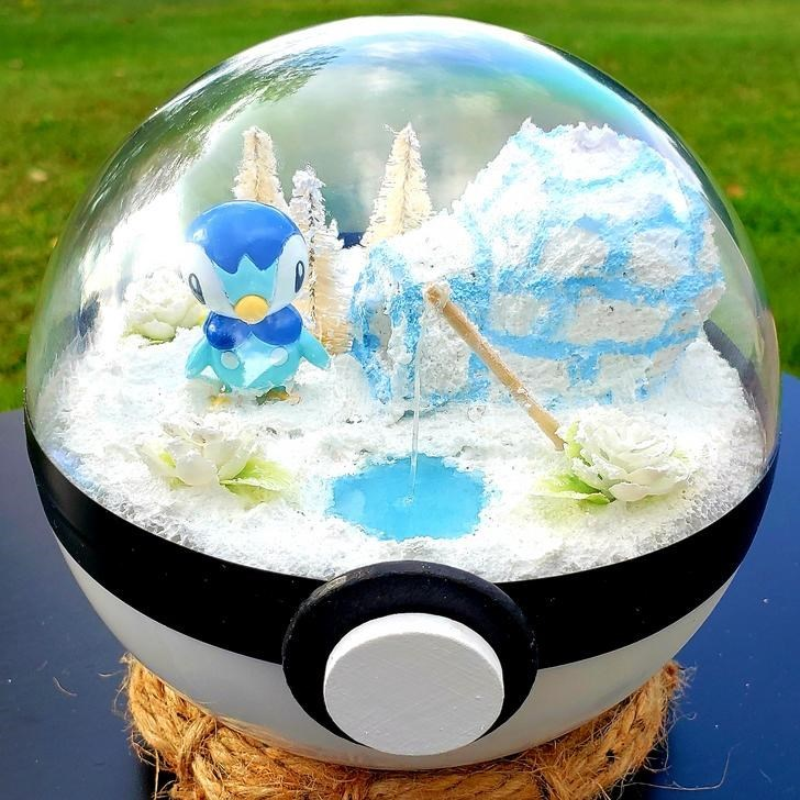 james croft pokemon terrariums - World