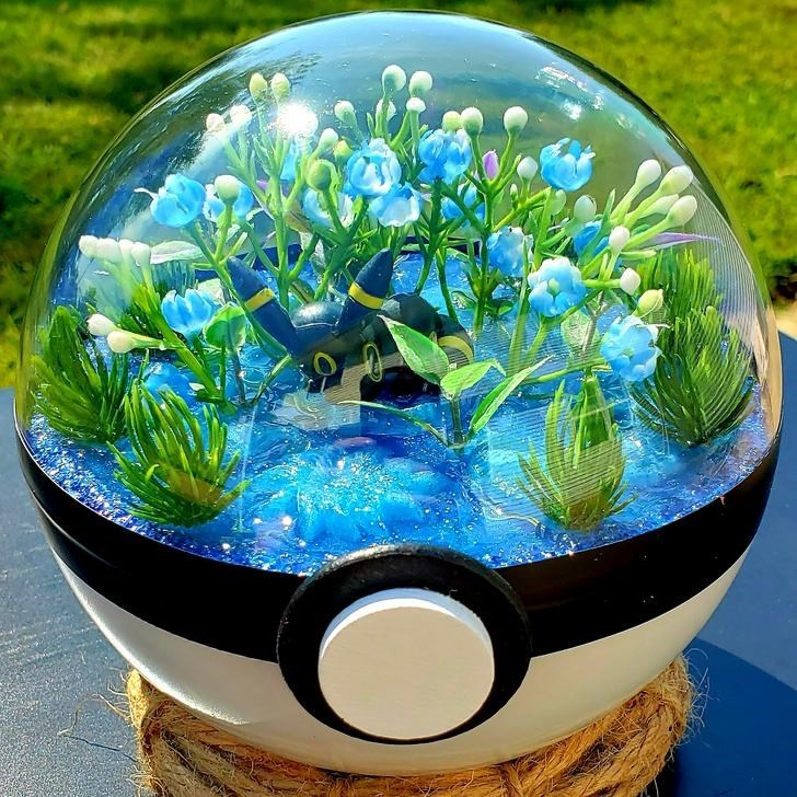 james croft pokemon terrariums - Blue