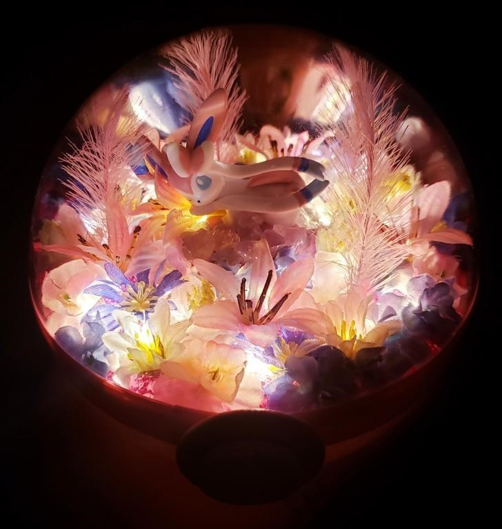 james croft pokemon terrariums - Light