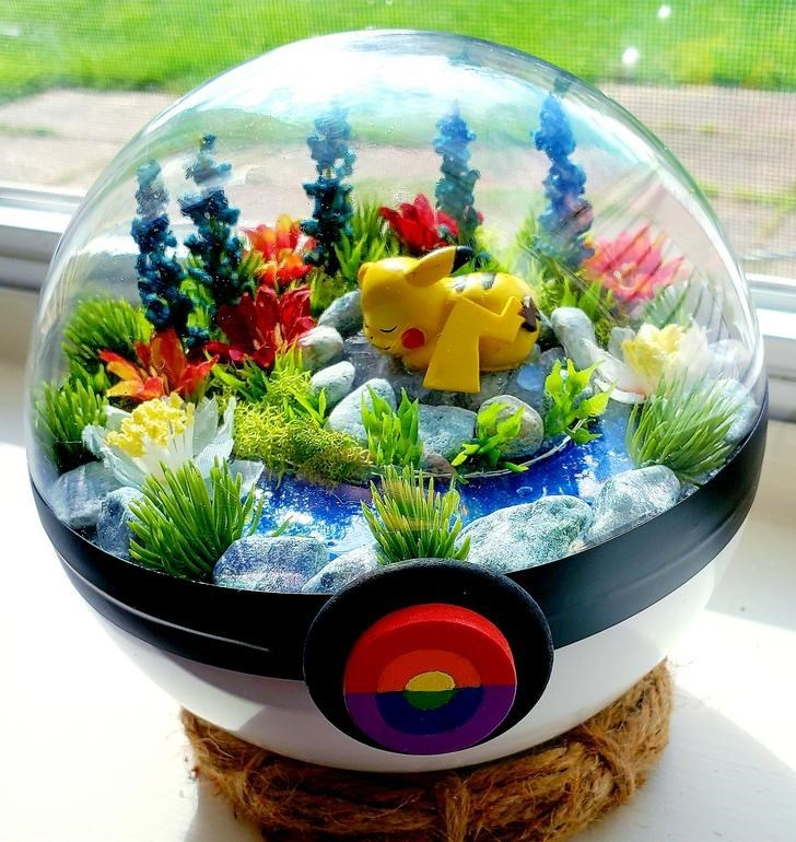 james croft pokemon terrariums - Flowerpot