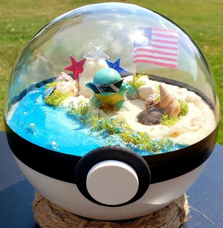 james croft pokemon terrariums - Easter