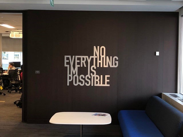 design fail - Wall - 5XERYTHING POSSIBLE