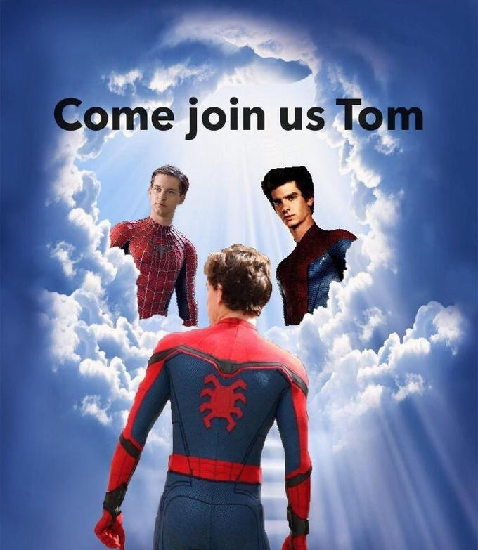 spider man - Superhero - Come join us Tom