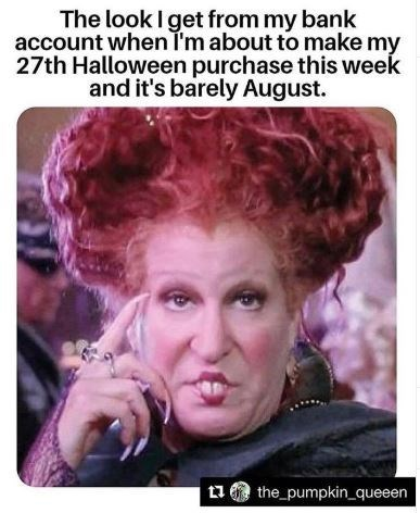 Hair - The look I get from my bank account when I'm about to make my 27th Halloween purchase this week and it's barely August. the_pumpkin_queeen