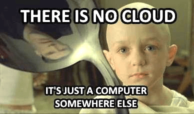 Forehead - THERE IS NOCLOUD IT'SJUST A COMPUTER SOMEWHERE ELSE