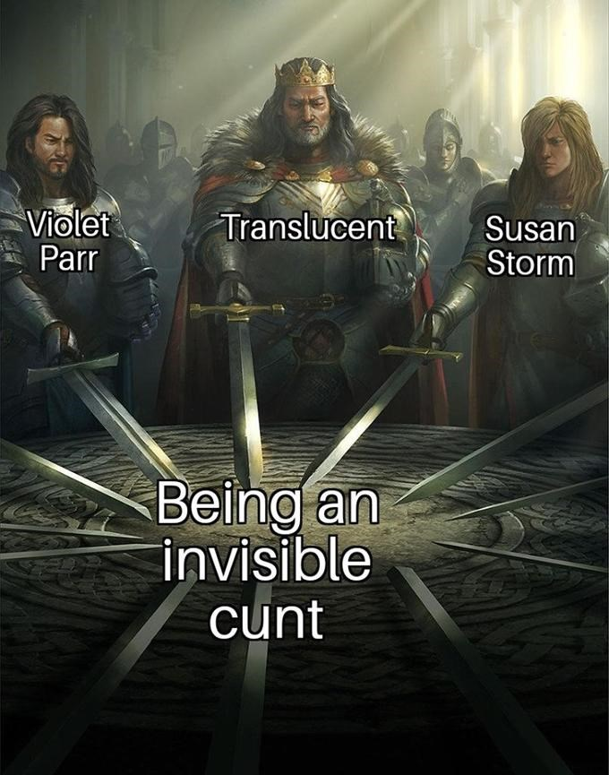 Movie - Violet Parr Translucent Susan Storm Being an invisible cunt